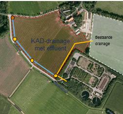 oto van subinfiltratie van rwzi effluent in Haaksbergen